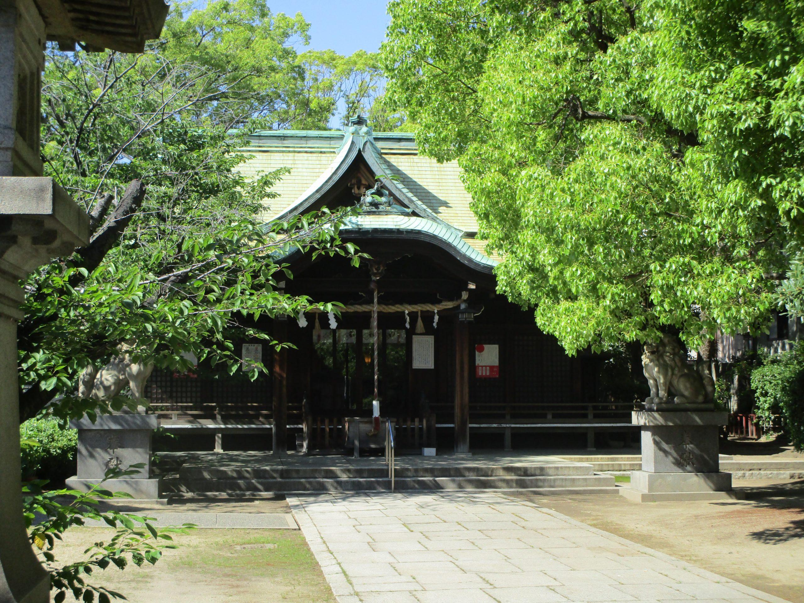 泉尾神社の写真