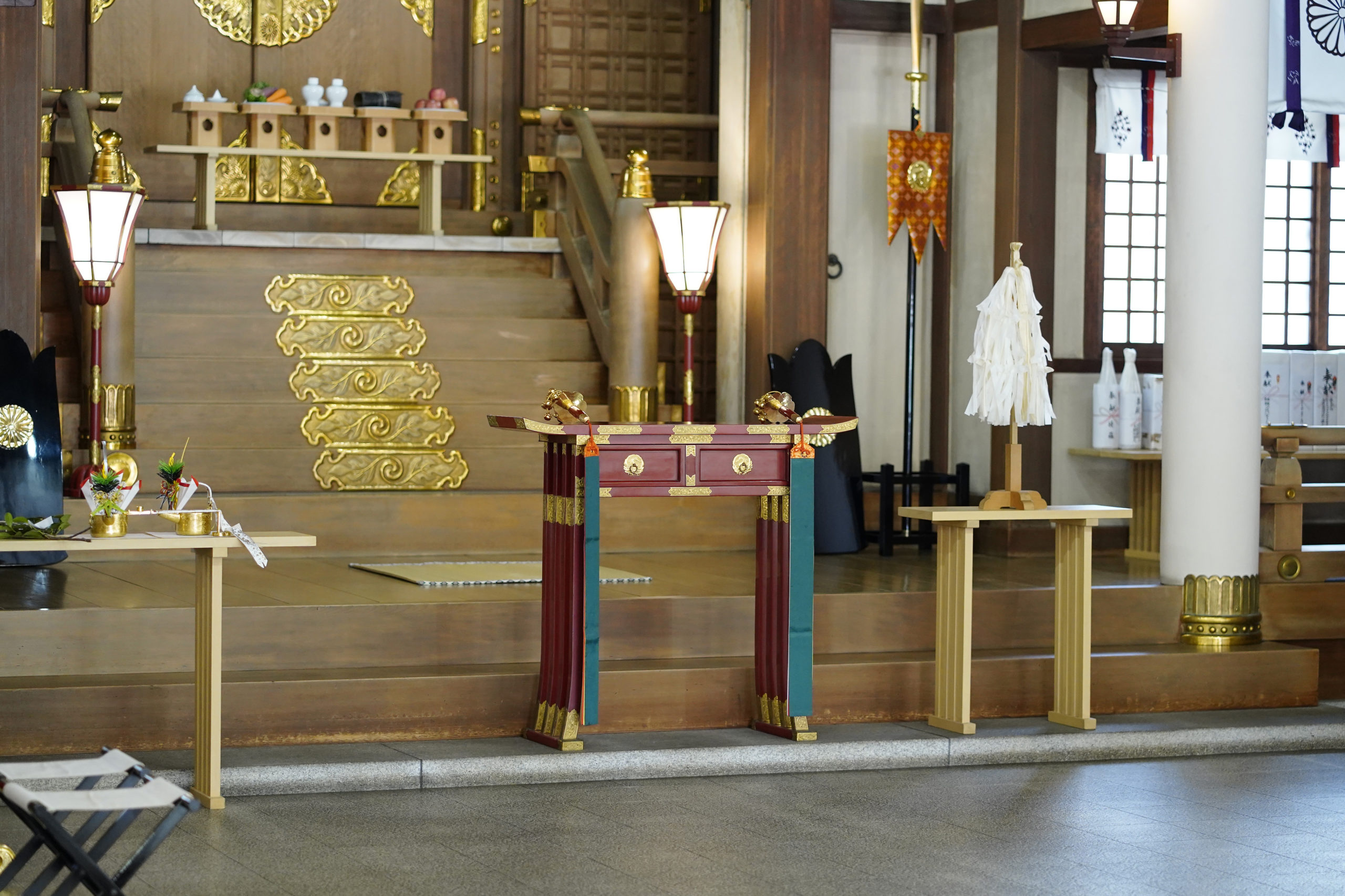 坐摩神社の写真